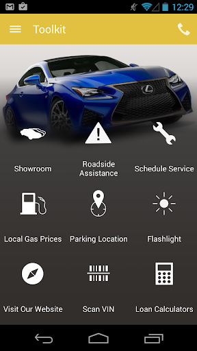 Longo Lexus DealerApp