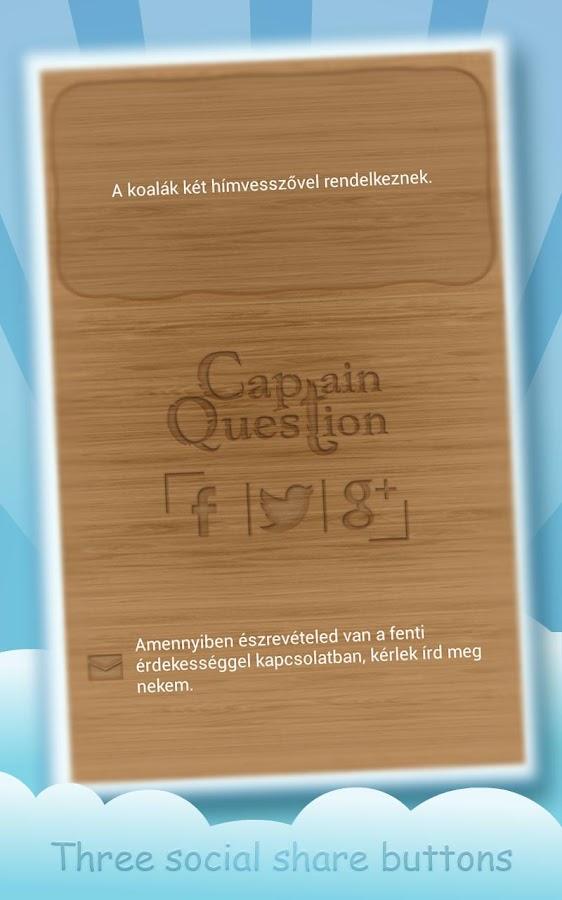 Captain Question - screenshot