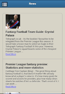 Fantasy Premier League EPL - screenshot thumbnail