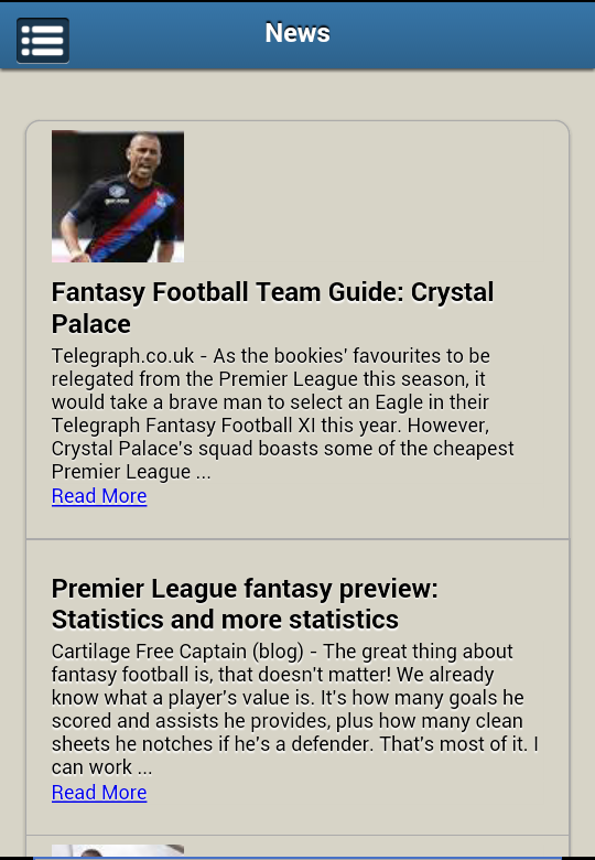 Fantasy Premier League EPL - screenshot