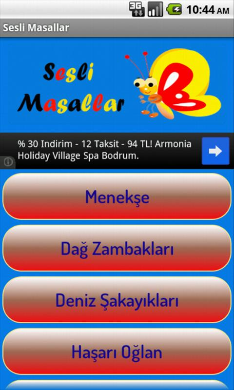 Sesli Masallar- screenshot