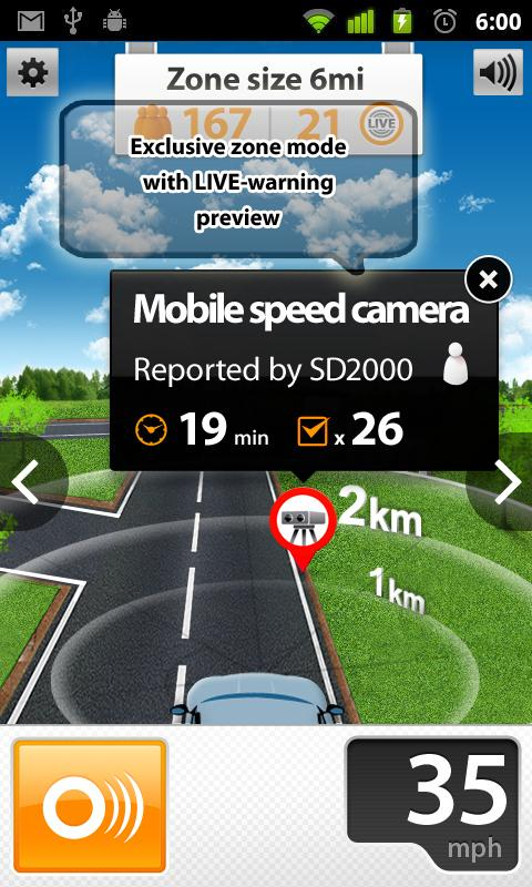 Speed Cams Wikango HD v4.3.2 - screenshot