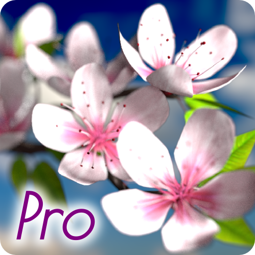 Spring Flowers 3D Parallax Pro app for Android