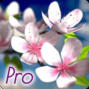 Spring Flowers 3D Parallax Pro 個人化 App LOGO-APP試玩