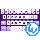 Lavender keyboard image icon