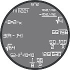 Math Clock Widget icon