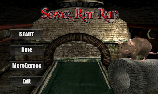 Sewer Rat Run 3D