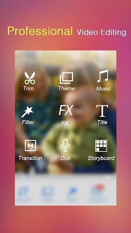 android VivaVideo Pro:édition de vidéo Screenshot 4