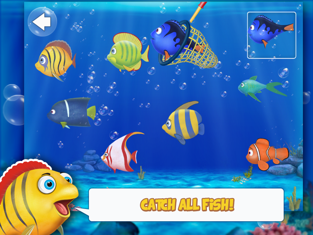 Fishing for kids and babies- screenshot