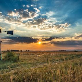 Sunset by Aldus Smith - Landscapes Sunsets & Sunrises
