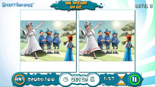 Wizard of Oz: Hidden Diff