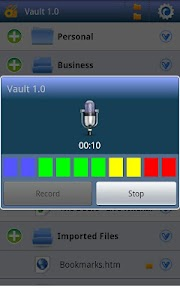aVault Secure Document Encrypt v1.0