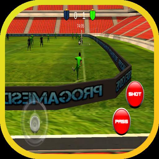 免費的3D足球足球真正發揮作用