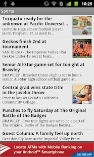 Imperial Valley Press News - screenshot thumbnail