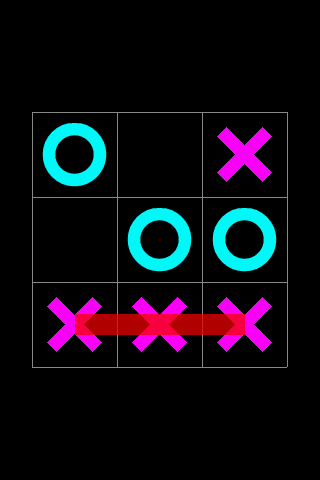 Tic Tac Toe Simple - screenshot