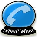 WhenWho logo