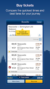 National Rail Enquiries- screenshot thumbnail