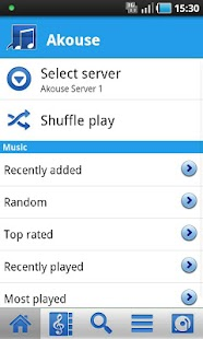 Akouse Cloud Player - screenshot thumbnail