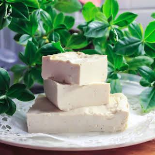 Homemade Tofu.