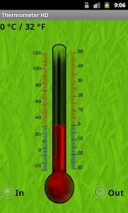 Thermometer HD - screenshot thumbnail