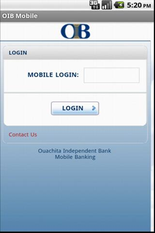 Ouachita Independent Bank - screenshot