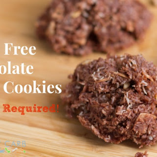 No Bake Grain Free Chocolate Haystack Cookies