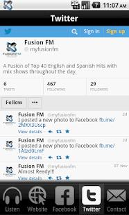 Fusion FM - screenshot thumbnail