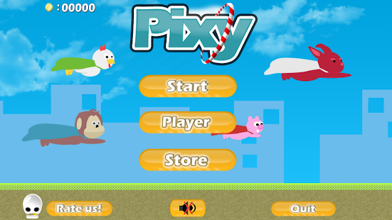 Pixy: Flying Bunny- screenshot thumbnail
