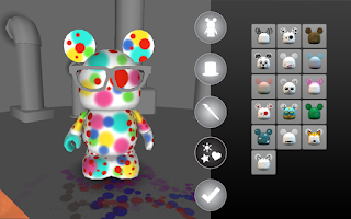 Screenshot of Vinylmation: Create Your Own