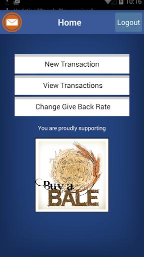 Give Back Merchant App