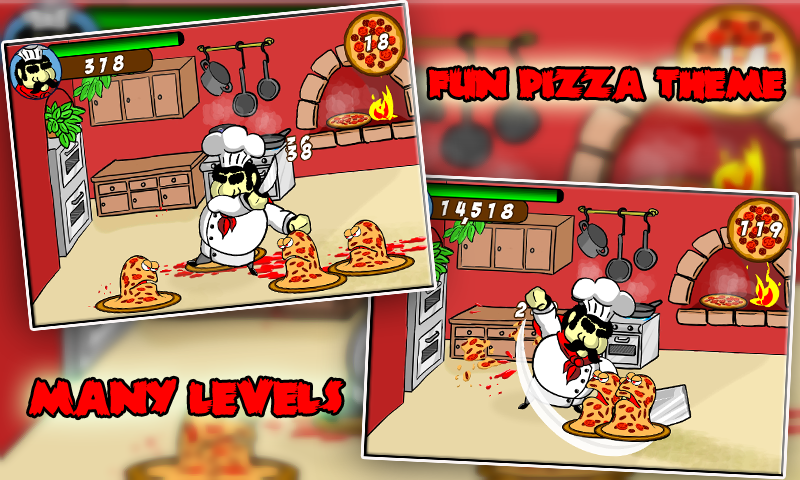 Horror Pizza 1: Pizza Zombies - screenshot