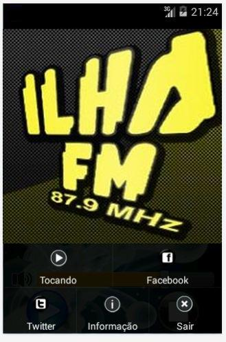 Radio Ilha Fm- screenshot