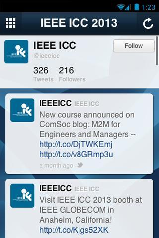 IEEE ICC 2013 - screenshot