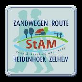 Zandweg Route Heidenhoek