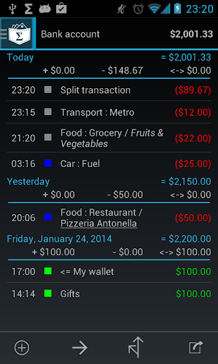My Expenses