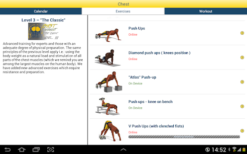Chest Workout- screenshot thumbnail