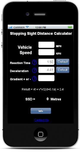 SSD Calculator