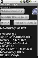 Screenshot of GPSLocator