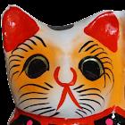 Fortune cat clock & Wallpaper icon