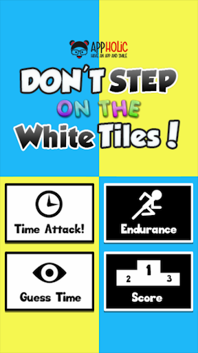 Don't Step On The White Tiles