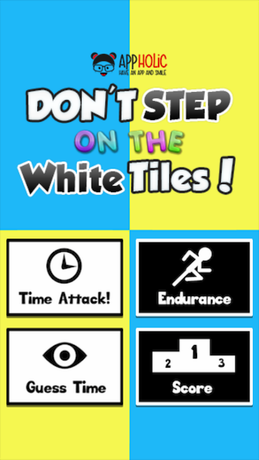 Don T Step On The White Tile