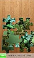Screenshot of Tegus Jigsaw Puzzles