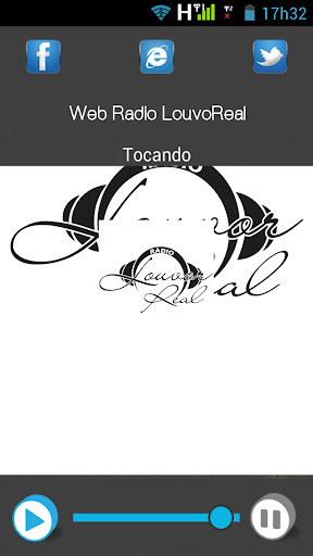Web Rádio LouvoReal