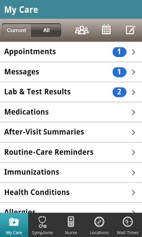 Group Health Mobile - screenshot