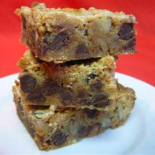 Gold Rush Brownies.