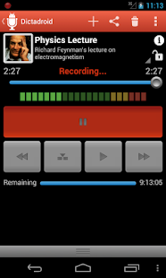 Dictadroid Voice Recorder - screenshot thumbnail