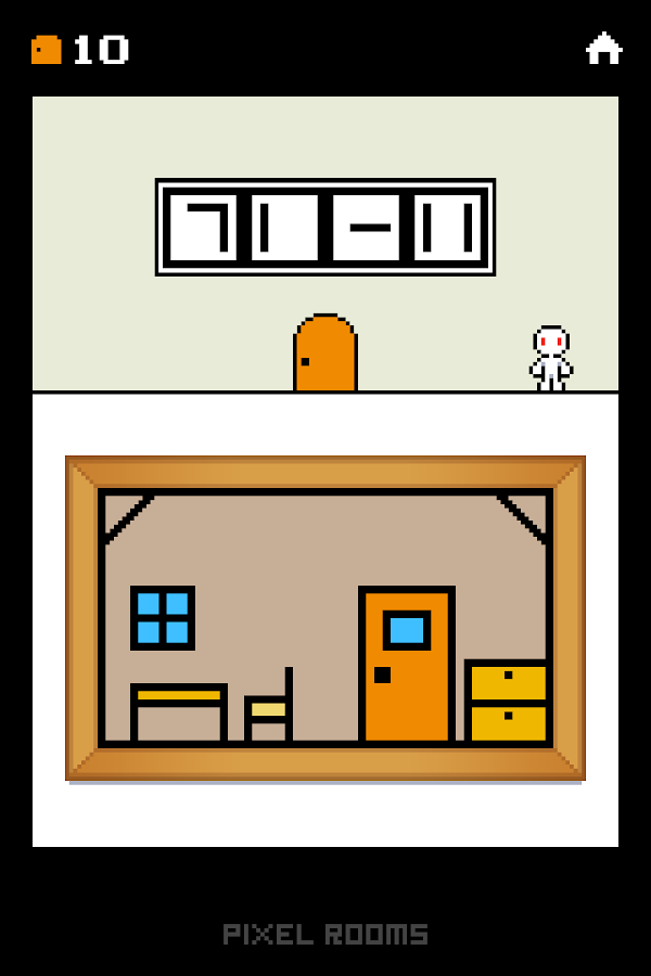 Pixel Rooms -room escape game- - screenshot