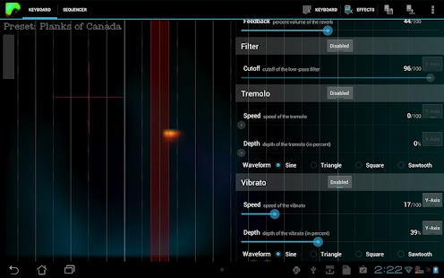 Plasma Sound Screenshot 1