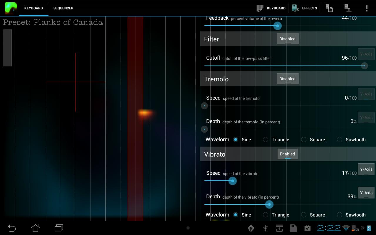 Plasma Sound- screenshot