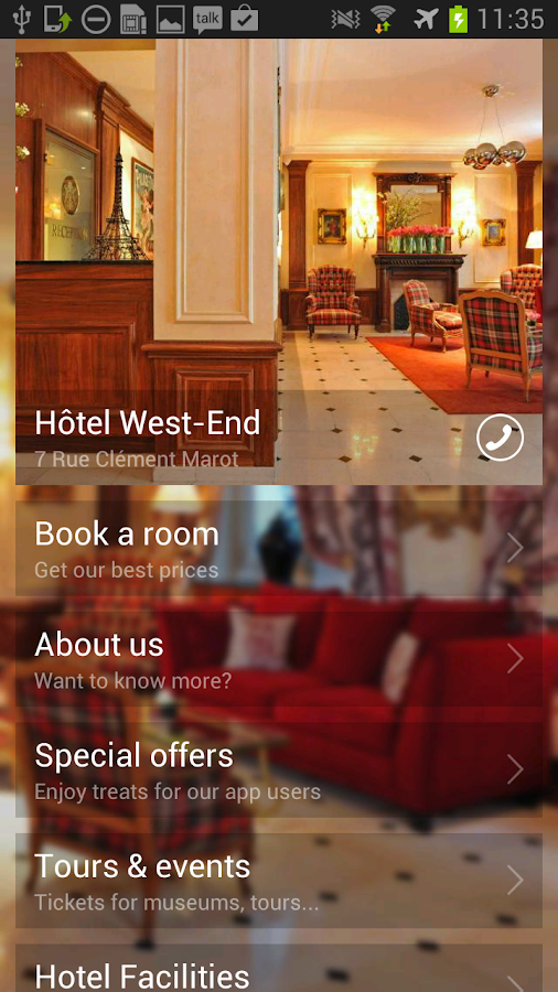 Hotel West-End - screenshot